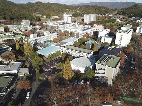 大学キャンパス空撮1